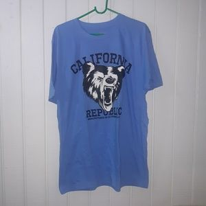 Other - Mens California Republic t-shirt. Size large
